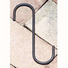 "Wrought Iron S-Hook - 6"" x 1-1/2"""