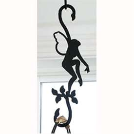 Wrought Iron Garden Fairy S-Hook