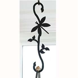Wrought Iron Dragonfly S-Hook