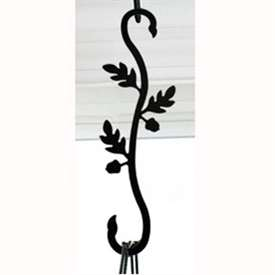 Wrought Iron Acorn S-Hook