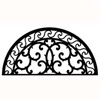 Wrought Iron Half Round Wall Art (Style 197)