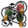 Wrought Iron Leaf Wine Rack - (holds 3 bottles)