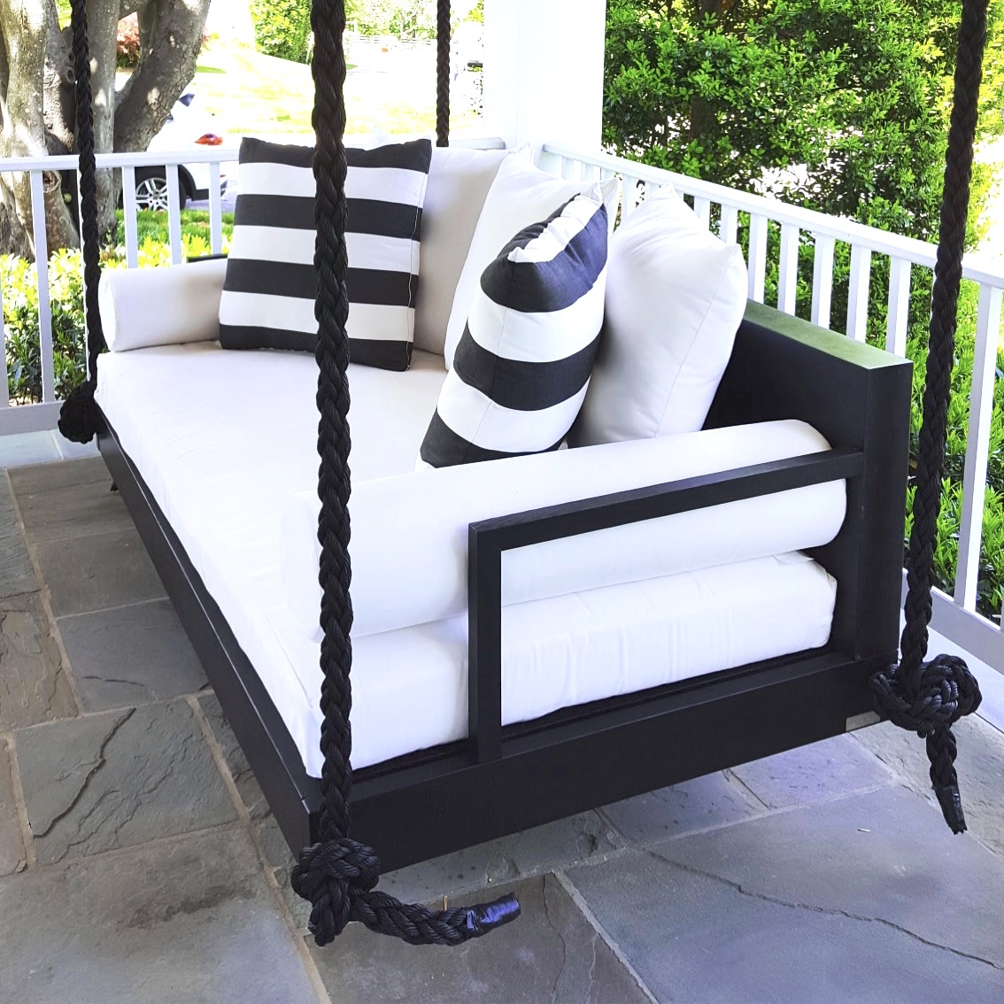 the charlotte swing bed. Black Bedroom Furniture Sets. Home Design Ideas