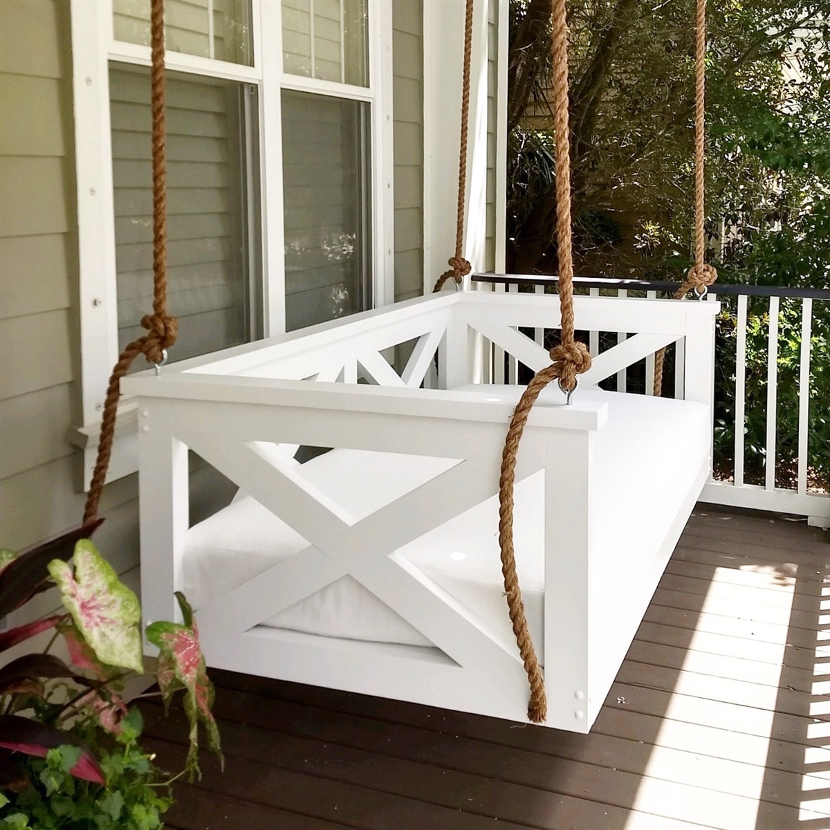 Picture of: The Cooper River Swing Bed
