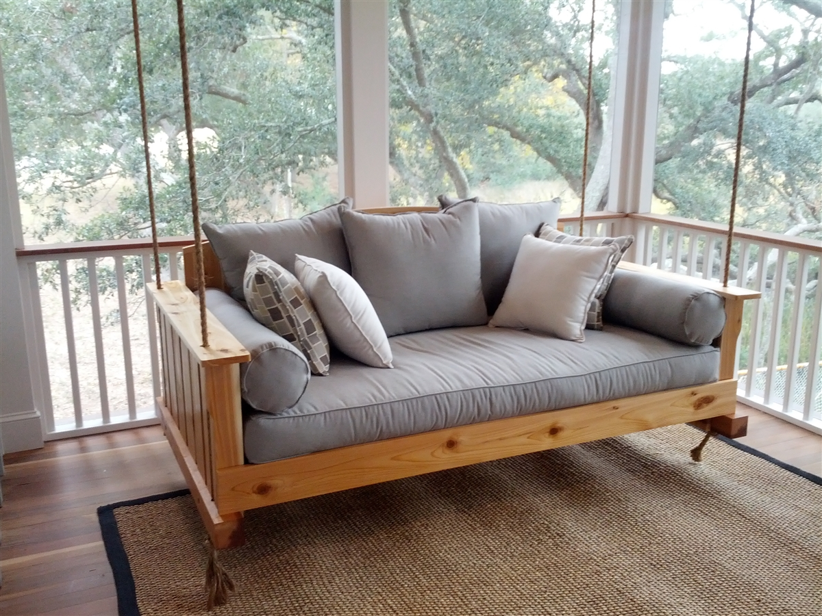 Picture of: The Daniel Island Swing Bed