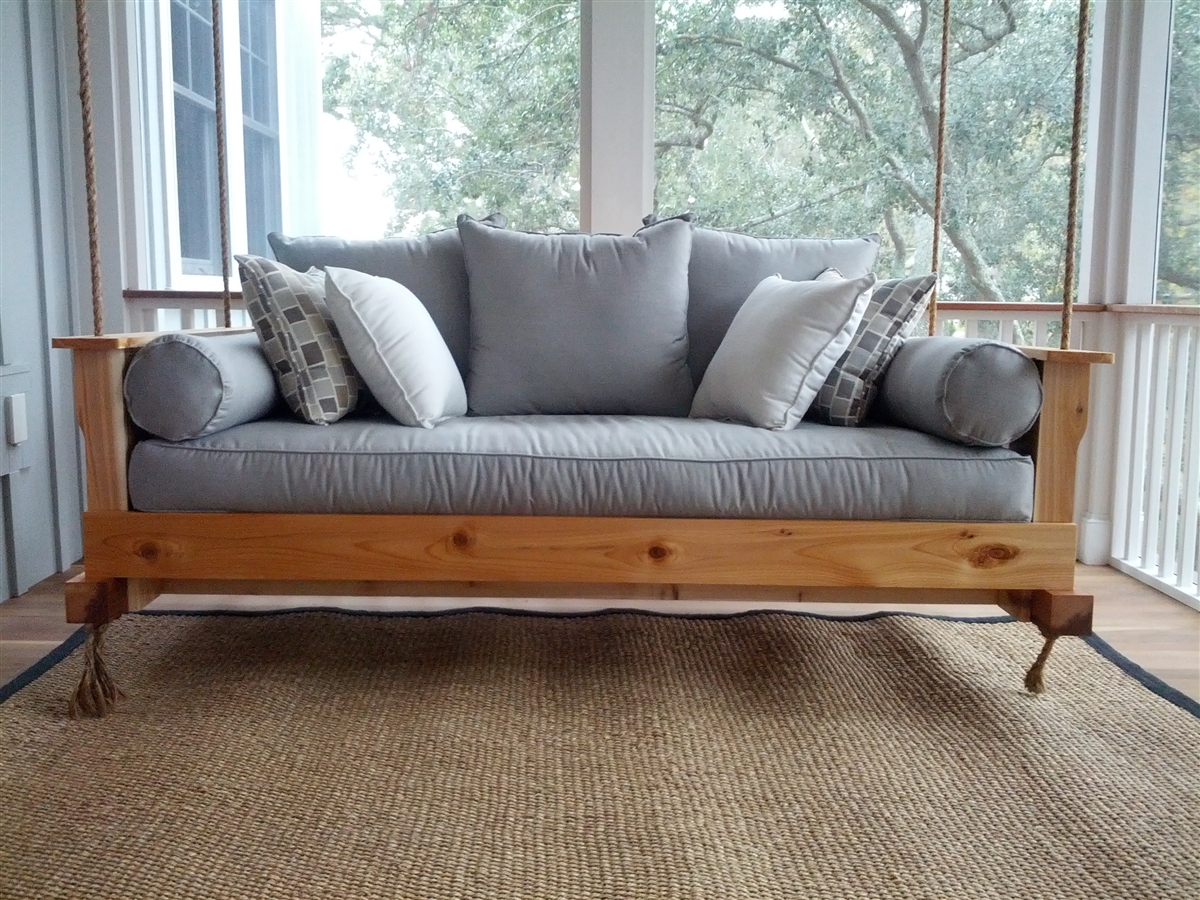 daybed swings round energokarta plans info bed swing outdoor porch