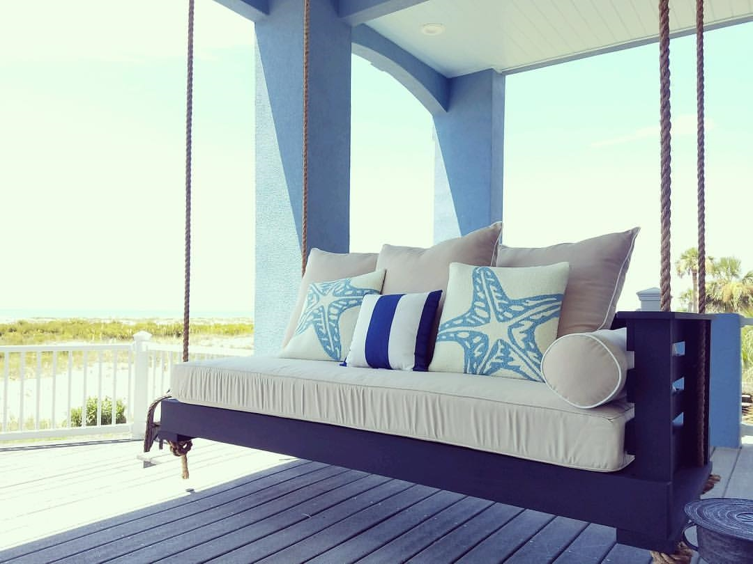 Design Swinging Beds the sullivans island swing bed
