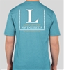 Unisex LC Swingbeds T-SHIRT in Turquoise Frost