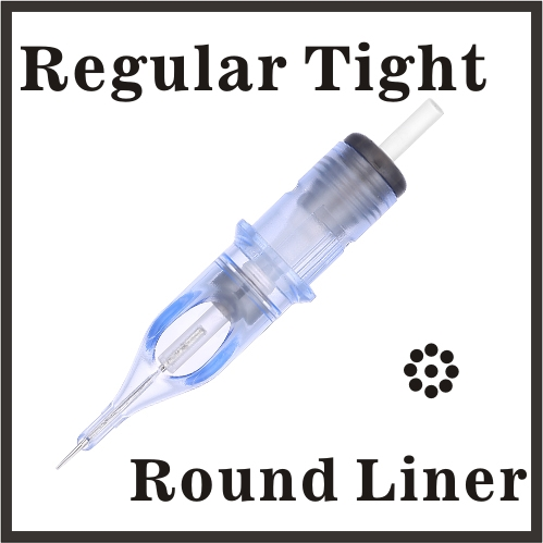 ELITE EVO Needle Cartridge Round Liner - Regular Tight - BC1203RLT