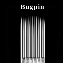 <!010> Box of 50 ELITE TATTOO NEEDLES - Bugpin  Magnum  0.3mm