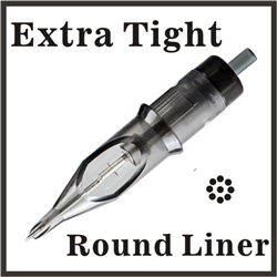 ELITE Needle Cartridge Round Liner - Extra Tight