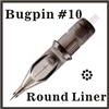 ELITE II Needle Cartridge Round Liner - Bugpin, C1003BPRL