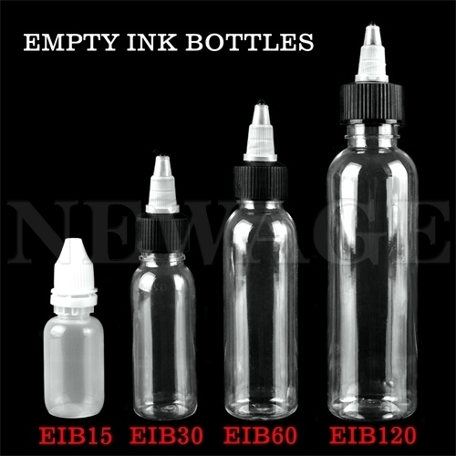 <!031>15ml - 1/2 Oz Empty Ink Bottle