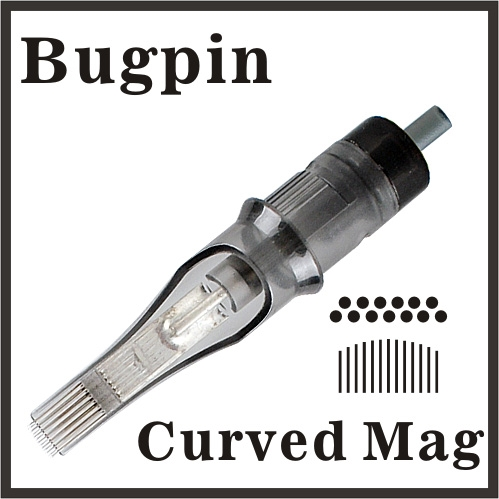 OPEN ELITE Needle Cartridge Curved Magnum - Bugpin
