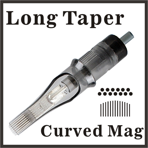 OPEN ELITE Needle Cartridge Curved Magnum - Long Taper