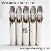 <!090> Pro-Design Steel Tips - Flat
