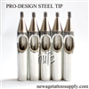 <!010>  Pro-Design Steel Tips - Round