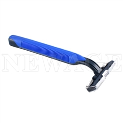 <!080>Disposable Razor Stainless Steel Twin Blade