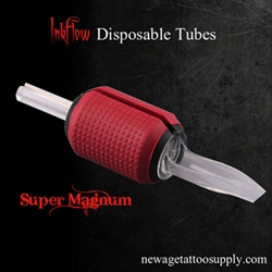 "23M -- 1.25"" Super Magnum Inkflow Disposable Tubes Super"