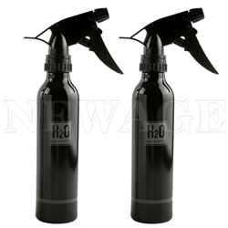 <!051>250ml  8 Oz Black Spray Bottle