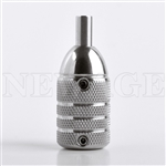 <!050> 25mm Pro-Design Stainless Steel Tattoo Grips B