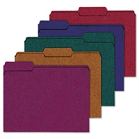 Recycled Paper File Folders