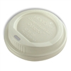 Planet+ Compostable lid fits 10,12, and 16 oz hot cups