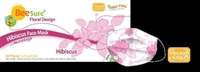 BeeSure Face Masks floral design-case