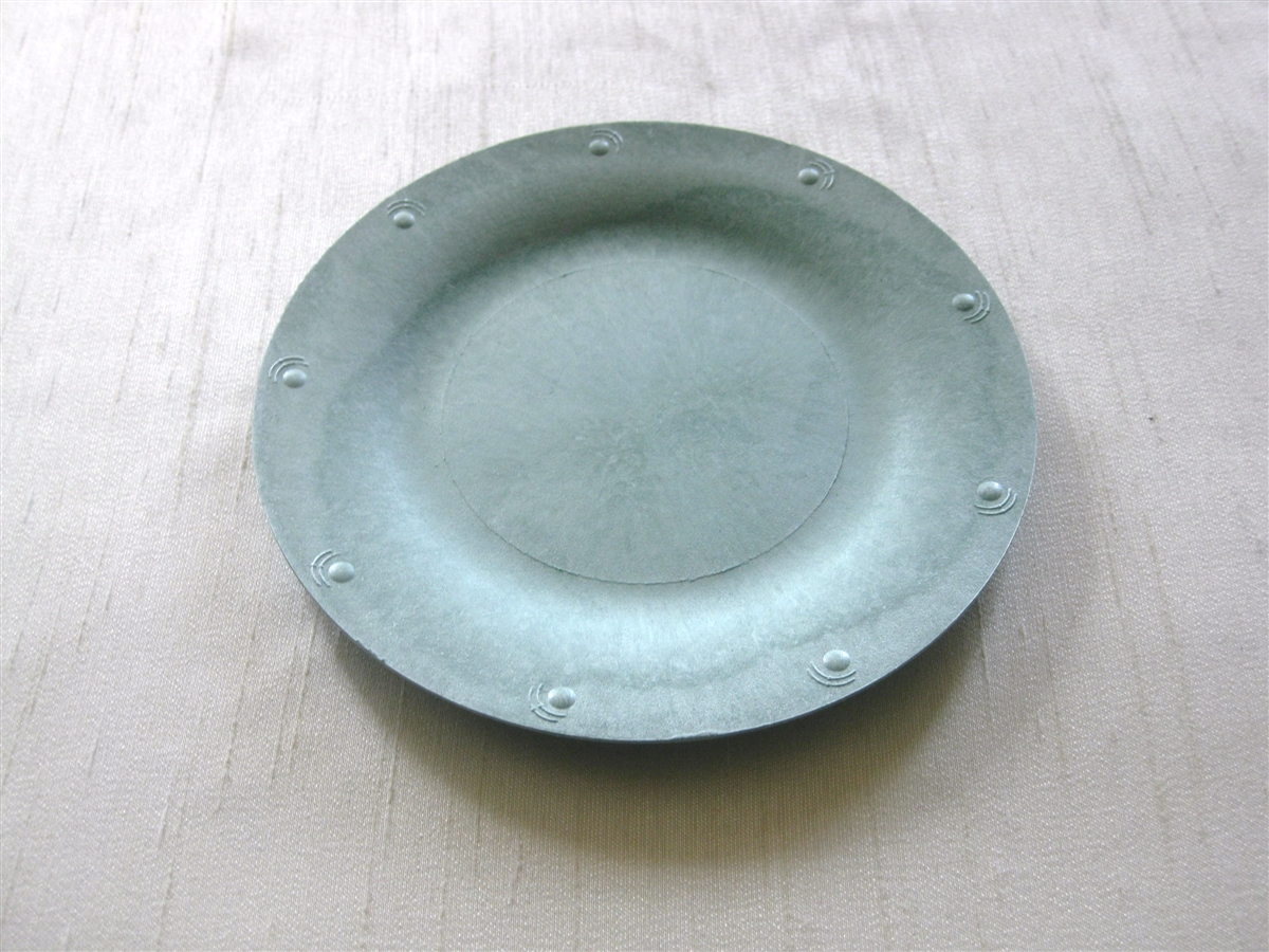 Compostable Blueware Party Plates 7.25\  & Compostable and Stylish Blueware Plates and Bowls.