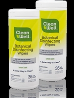 CleanWell Disinfecting Wipes - 35 or 180 count