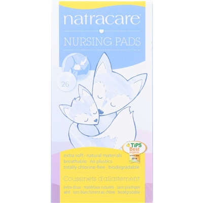 Natracare Natural Nursing Pads - 26 Count