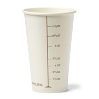 Graduated Disposable Paper Cup- 16 oz  50/pk