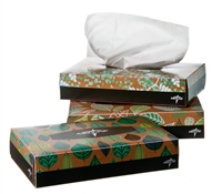Recycled Standard Facial Tissue, 2-ply