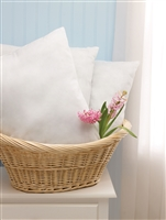 Disposable Pillows made with some recycled fibers