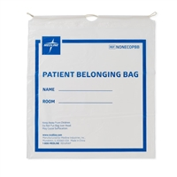 Medline Compostable Patient Belongings Bags