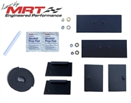 2005-2014 Mustang MRT Replacement Rear Louver Hardware Kit