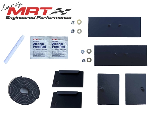 2005 - 2014 Mustang MRT Replacement Rear Louver Hardware Kit
