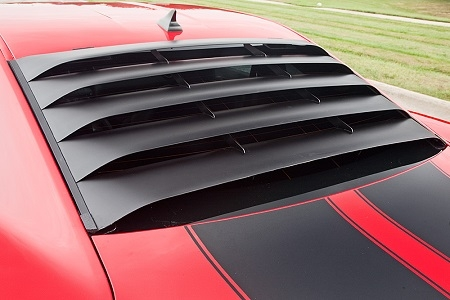 10-15 Camaro MRT Aluminum Rear Window Louver