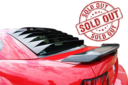 1994 - 2004 Mustang MRT Rear Window Louver