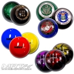 Custom 6 speed shift balls / knobs by MRT