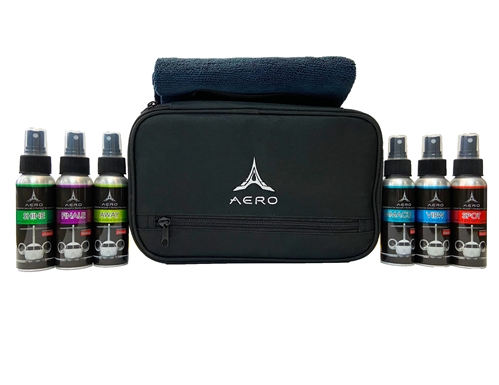 6-Pack Mini Aero International Detailing Traveler Kit