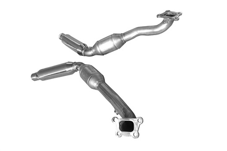 2012 - 2015 Camaro V6 Ultra High Flow Catalytic Converter Assembly by Solo Performance 90N181