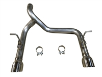 2018-2020 Jeep Wrangler MRT Version 3 JL2  Axle-Back Performance Exhaust System 90R137