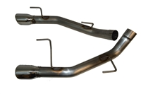 2005 - 2010 Mustang GT and Shelby GT500 MRT KR Muffler Delete Axle-Back Performance Exhaust System 91A150