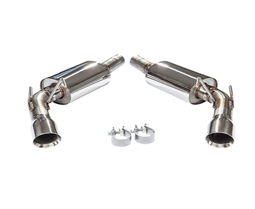 2010-2015 Camaro V6 Version 2 Axle-Back Performance Exhaust System 91A177