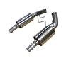 2010-2015 Camaro V6 Version 2 Axle-Back Performance Exhaust System GFX Only 91A180