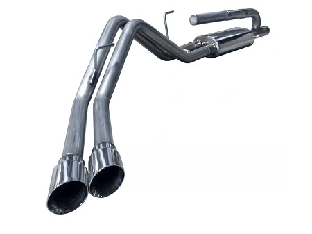 2010 - 2014 Ford F150 SVT Raptor MRT MaxFlow DMS Cat-Back Performance Exhaust System 91K101
