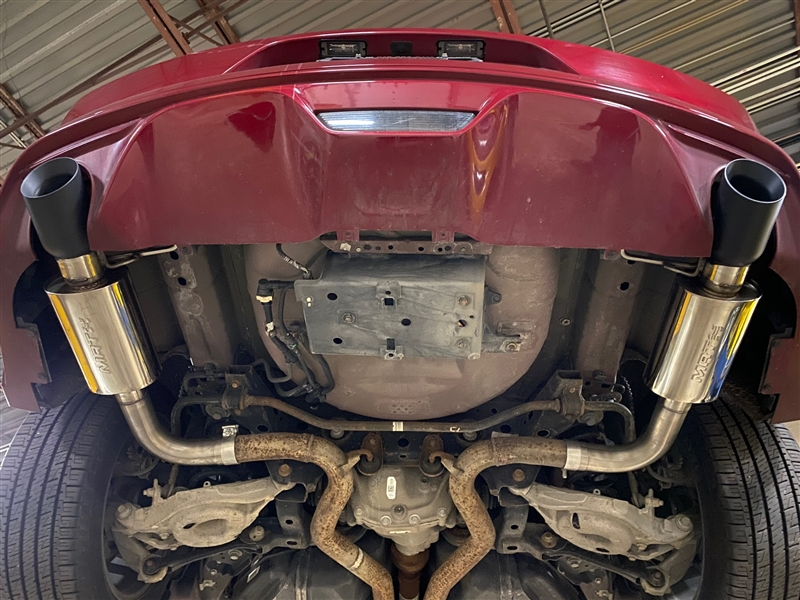2015 2017 Mustang Gt Interceptor Axle Back Performance