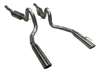 1996 - 1998 Mustang GT, Bullitt, Mach 1 MRT Interceptor Cat-Back Performance Exhaust System 92B208
