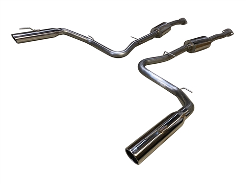 1999 - 2004 Mustang Cobra IRS MRT Interceptor Cat-Back Performance Exhaust System #92B502